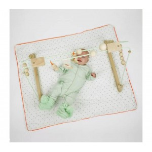 &Me - Babygym Mint + White