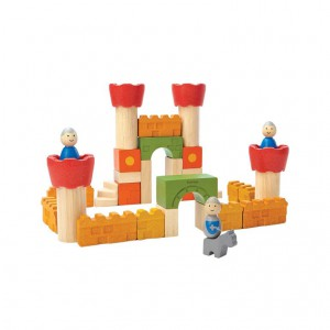 Plantoys - Castle Blocks