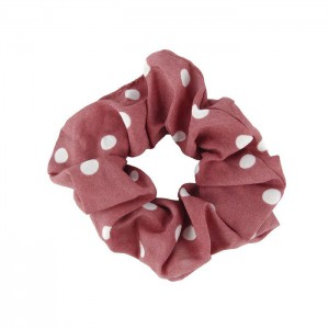 Scrunchie - Dots Red