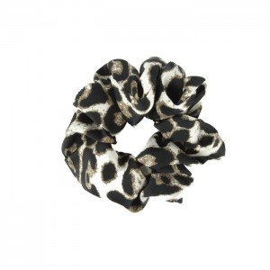 Scrunchie - Leopard White