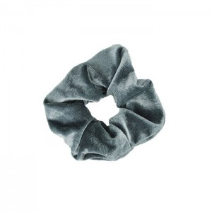 Scrunchie - Velvet Grey