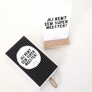 By Romi - Wensdoosje | Meester