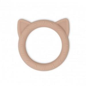 Mushie - Teether Cat | Blush
