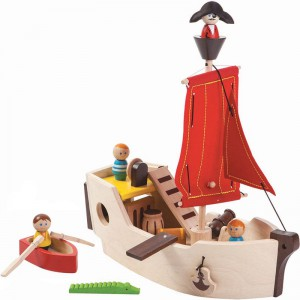 Plantoys - Piratenschip