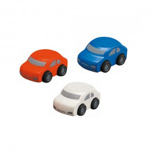 Plantoys - Familie Wagens