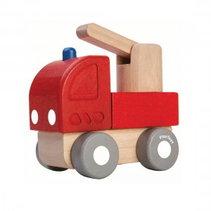 Plantoys - Mini Brandweerwagen
