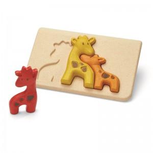 Plantoys - Eerste puzzel Giraf