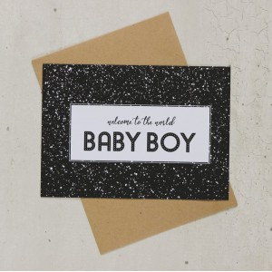 Cards By Eva - Baby Boy